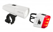 CUBE Beleuchtungsset PRO 18 white StVZO #13981