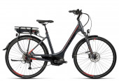 CUBE Touring Hybrid 400 Lady EE 2016 grey´n´red