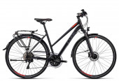 CUBE Touring SL Lady 2016 black grey red