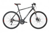 CUBE Cross Pro (Mj. 2013) black´n´white anodized 46 cm