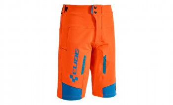 CUBE ACTION Shorts Team flashred #10670 XS
