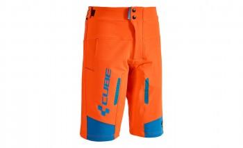 CUBE ACTION Shorts Team flashred #10670 XL