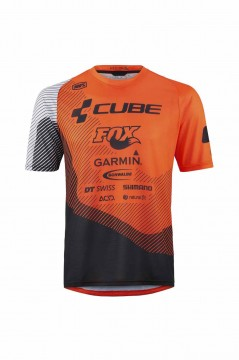 CUBE EDGE Rundhalstrikot kurzarm X Action Team #10731 M