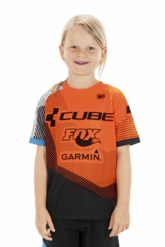 CUBE JUNIOR EDGE Trikot kurzarm X Action Team #10732