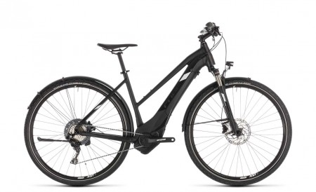 Cube Cross Hybrid Race 500 Allroad black´n´white 2019 - Trapez 230300 / 50 cm