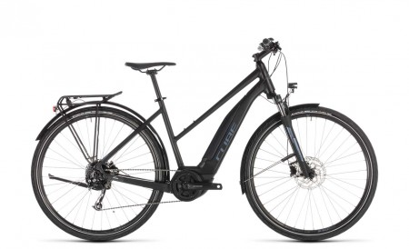 Cube Touring Hybrid ONE 500 black´n´blue 2019 Lady