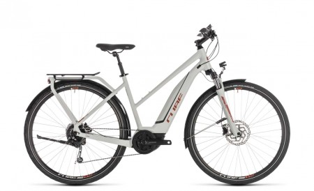 Cube Touring Hybrid 500 grey´n´orange 2019 Trapez
