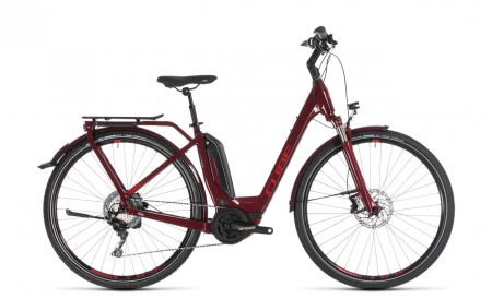 Cube Touring Hybrid EXC 500 darkred´n´red 2019 Easy Entry