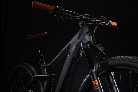 Cube Stereo Hybrid 120 HPC TM 500 grey´n´orange 2019