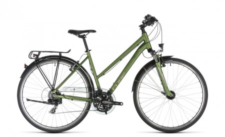 Cube Touring green´n´silver 2019 Trapez