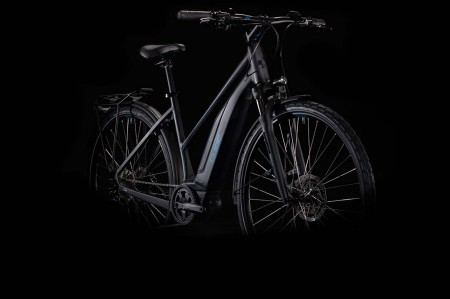 Cube Touring Hybrid ONE 500 black´n´blue 2020 Trapez