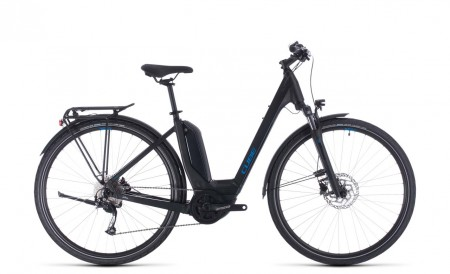Cube Touring Hybrid ONE 500 black´n´blue 2020 Easy Entry