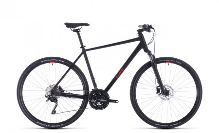 Cube Nature EXC black´n´red 2020