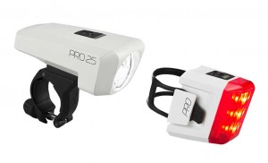 CUBE Beleuchtungsset PRO 25 white StVZO #13983