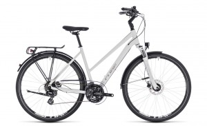 Cube Touring Pro white´n´silver 2018 Lady