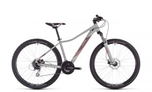 Cube Access WS EAZ lightgrey´n´rose 2019 - Damen MTB