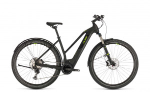 Cube Cross Hybrid Race 625 Allroad black´n´green 2020 Trapez