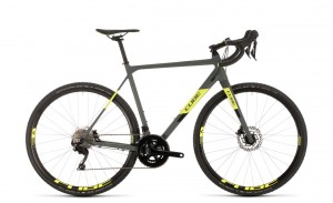 Cube Cross Race Pro grey´n´flashyellow 2020