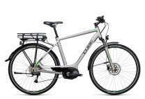 Cube Touring Hybrid ONE 500 silver flashgreen 2017