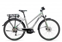 Cube Touring Hybrid ONE 500 silver flashgreen 2017 Lady