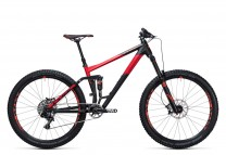 Cube Stereo 160 HPA Race 27.5 black red 2017