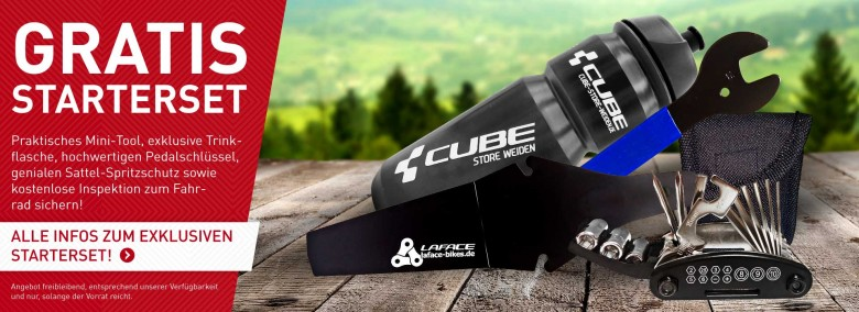 Exklusives Starterset von Ihrem Cube Store Weiden