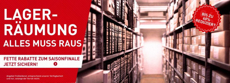 Sonderangebote Sale 60%