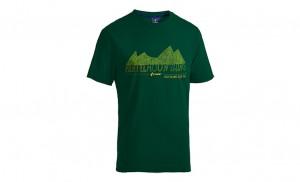 CUBE JUNIOR T-Shirt Green Fichtelmountains #10647