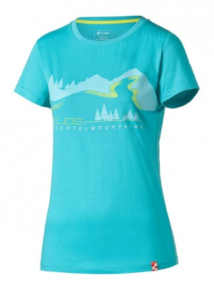 CUBE T-Shirt WLS FICHTELMOUNTAINS Damen #11149
