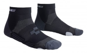 CUBE Socke Race Cut blackline #11829