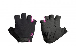 CUBE Natural Fit Damen Handschuhe Kurzfinger black pink #11958