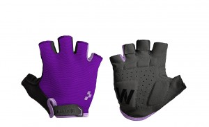 CUBE Natural Fit Damen Handschuhe Kurzfinger violet purple #11959