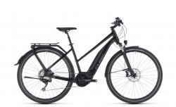 Cube Touring Hybrid EXC 500 black´n´grey 2018 - Lady