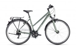 Cube Touring green´n´silver 2018 Lady