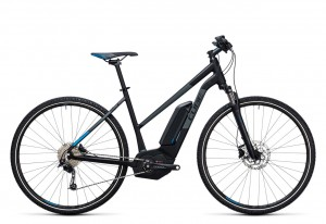 Cube Cross Hybrid Pro 500 black blue 2017 Lady