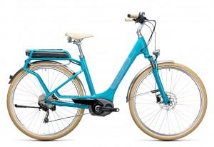 Cube Elly Ride Hybrid 500 blue aqua 2017