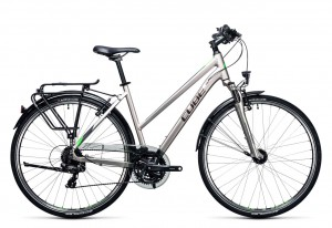 Cube Touring silver flashgreen 2017 Lady