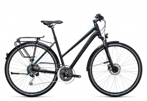 Cube Touring Exc black blue 2017 Lady