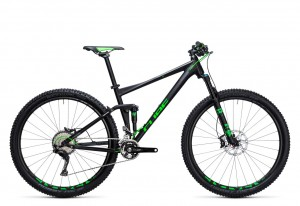 Cube Stereo 120 HPA SL black green 2017