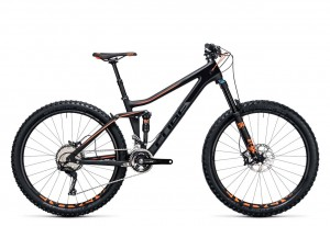 Cube Stereo 140 C:62 Race 27.5 carbon flashorange 2017