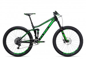 Cube Stereo 140 C:62 SL 27.5 carbon green 2017