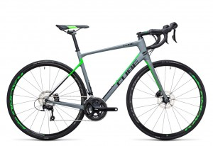 Cube Attain GTC Pro Disc grey flashgreen 2017