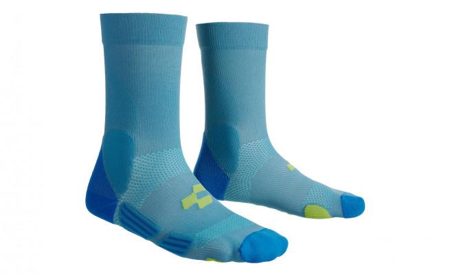 CUBE Socke Mountain blue´n´lime #11833 40-43