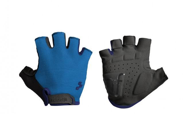 CUBE Natural Fit Handschuhe Kurzfinger blue #11960 M
