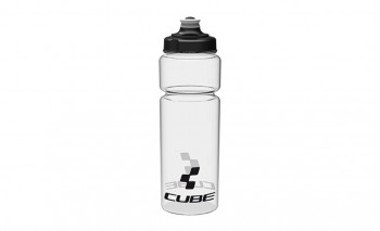 CUBE Trinkflasche 0,75l Icon transparent #13039