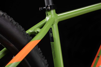 Cube Analog green´n´orange 2020