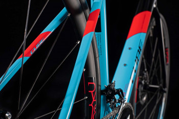Cube Axial WS GTC Pro lightblue´n´red 2020 Damen Rennrad