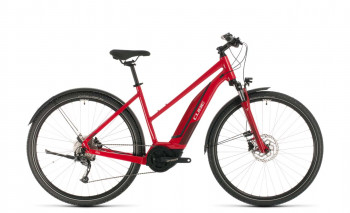 Cube Nature Hybrid ONE 500 Allroad red´n´red 2020 Trapez 50 cm / 330111