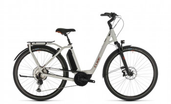 Cube Town Sport Hybrid EXC 500 grey´n´red 2020