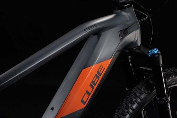 Cube Stereo Hybrid 120 Race 625 29 grey´n´orange 2020